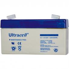 Μπαταρία Μολύβδου Ultracell 6V 1.3Ah